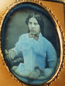 Mary Dunbar (nee Andrews).  This image dates from c. 1850