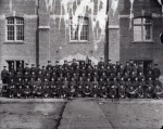 The Ontario 34th Regiment, outside of the Armouries, 1914From the Oshawa Community Archives Collection
