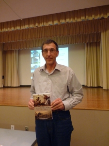 Grant Karcich and his latest publication: 'The Scugog Carrying Place'