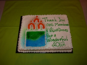 Thank you Volunteers and OHS Members!