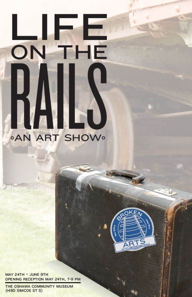 Life On The Rails art show