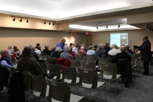 The crowd in the Nonquon Room, Northview Branch, OPL