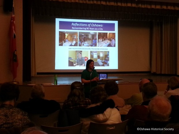 Melissa Cole at March's Speaker Series