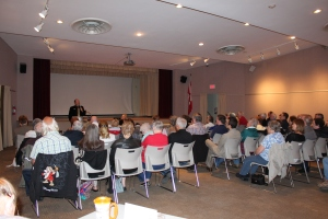 At the May Speaker Series